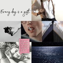 titanic jackandrose leonardodicaprio katewinslet lovers artist collage freetoedit