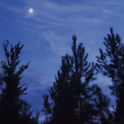picsart heypicsart moon photography aesthetic aesthetics aestheticphotography moonphotography moonlight sky skyphotography blueaesthetic vynl nature lifestyle freetoedit