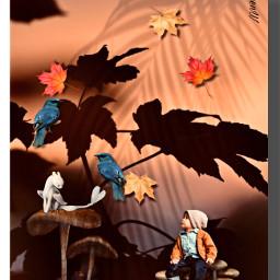 autumn autumnvibes fantasy shadowmask shadoweffect freetoedit