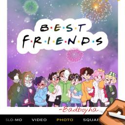 bestfriendsforlife thetrio sleepyboisinc dreamteam badboyhalo freetoedit
