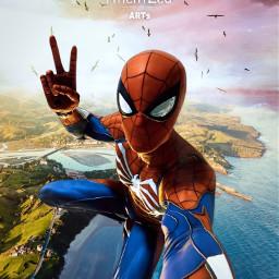 spiderman peterparker marvel fanart heroes superheroes nature unsplash alienized wallpaper uhd editedwithpicsart freetoedit
