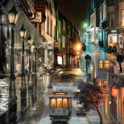 @asweetsmile1 freetoedit remix blendedimages blend surreal surreality picsart city background