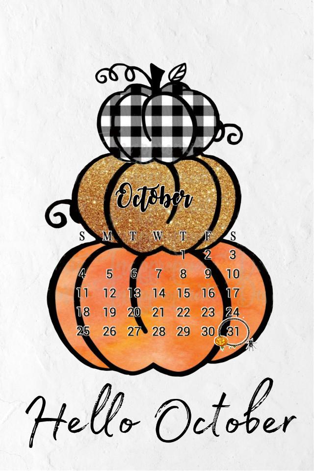 #october2020 #calendarchallenge2020