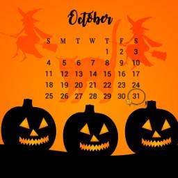 witch witches bkackcat pumpkin pumpkins freetoedit srcoctobercalendar octobercalendar