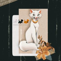 disney aristocats duchess marie berlioz toulouse 70saesthetic vintageeffect freetoedit