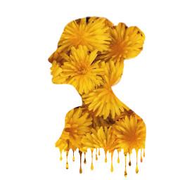 sunflower woman siloutte test freetoedit