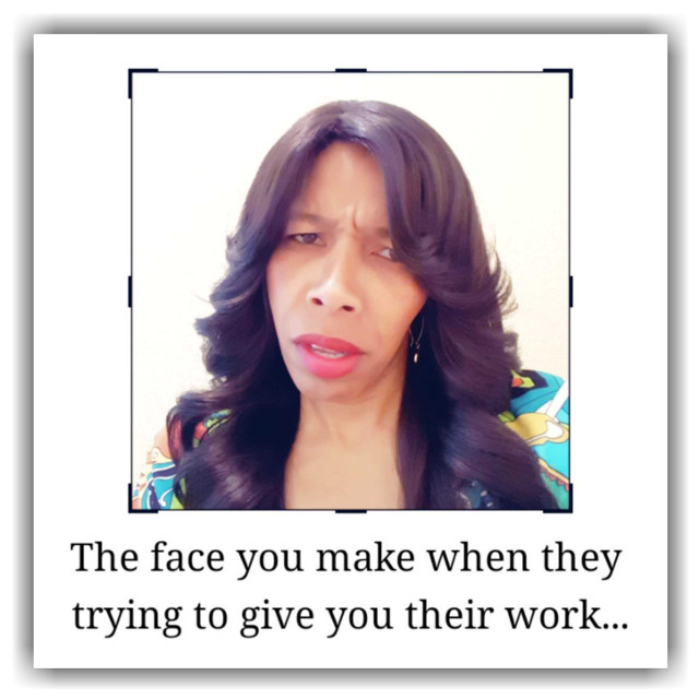 Their work... #thefaceyoumakewhen #drdonnaquote #work #working #graphics #graphtography #realleader #realleaders #realleadership #becomearealleader #bearealleader #theturnaround #theturnarounddoctor #turnaroundeffect #theturnaroundeffect #turnarounddoctor #graphicdesign #drdonna #drdonnathomasrodgers #facetography