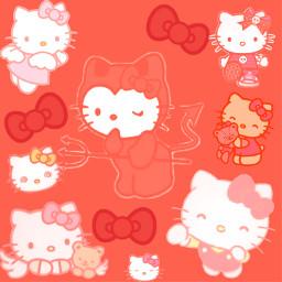 hellokitty cat kitty kitten red hellokittyedit sanrio freetoedit