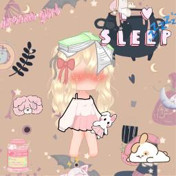 sleepy nighttimesky freetoedit
