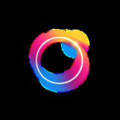 neon ring glow tumblr ftstickers sticker freetoedit remixit