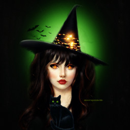 halloweenscream witch magical keepitsimple123 picsarthalloween freetoedit