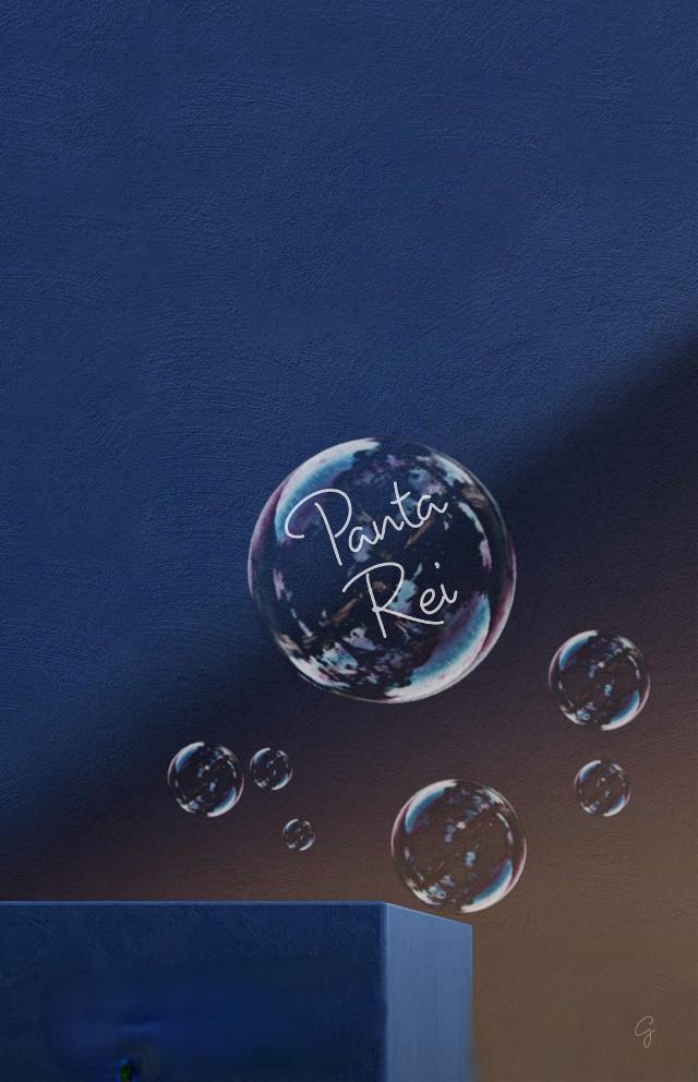 #blu #bubbles #quote