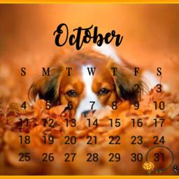 challenge submittochallenge october calendar dog srcoctobercalendar octobercalendar freetoedit