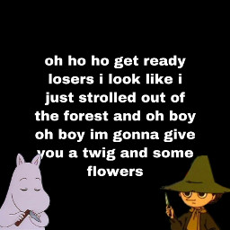 moominvalley moomin moomins moonintroll snufkin forestgay nature forest freetoedit
