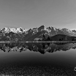 pcblack black mountains mountainview bergsee