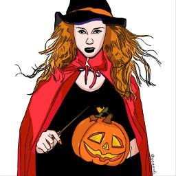 paintedversion witch hexe daayan strega freetoedit