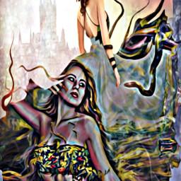 swing autumn halloween october snake irc fantasy artofvisuals castle scenery women art artist arte artsy artisticexpression artoftheday artislife artisticedit artexplore artgallery fineart arteffects artisticphoto picsartchallenge freetoedit funswing