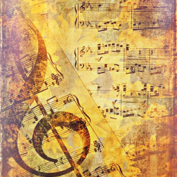 freetoedit effects music musicalnotes musicsheet vintage
