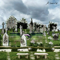 @asweetsmile1 wedding lake pond background happy death funeral creative blend blendedimages remix freetoedit