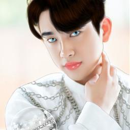 got7 got7jinyoung jinyoung manipedit kpop freetoedit