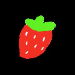 cottagecore strawberry cute kawaii hellokitty fruit kidcore colorfull agere ageregression freetoedit