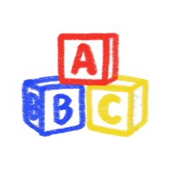 agere ageregression cute kidcore toys blocks primarycolors toddler freetoedit