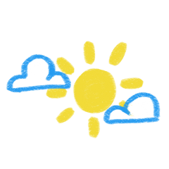 agere ageregression cute kidcore sun clouds sky freetoedit