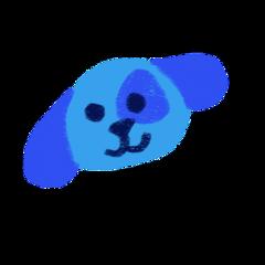 agere ageregression cute kidcore bluesclues blue puppy dog cartoon freetoedit