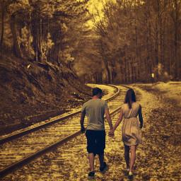 peacefulness place editbyme nature couple heypicsart background walking freetoedit