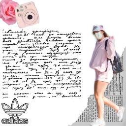adidas pink polaroid freetoedit