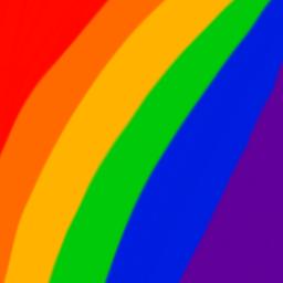lgbtq gay rainbow colorpaint