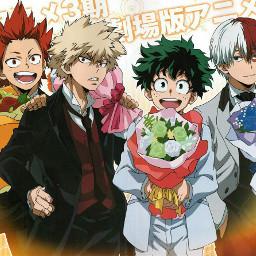 freetoedit anime bokunoheroacademia myheroacademia eijiroukirishima