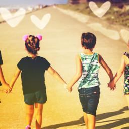 unsplash choosekindness heart cute spreadthelove kids holdinghands
