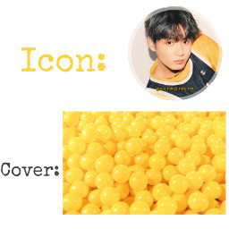 freetoedit jungkook bts army yellow icon cover request kpop