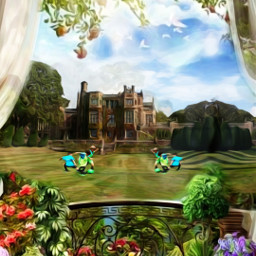 @asweetsmile1 portrait beautiful soccer family house background mansion remix freetoedit