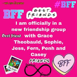 grace fern sophie jess casey penh friends bff bestfriends newgroup newbeginnings newfriendshipgroup movedon freetoedit