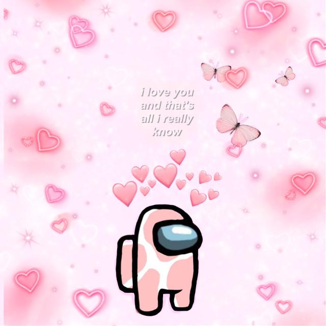 Among us edit #among #amongus #edit #cute #pink