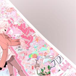 freetoedit remixit collab animeedit collabedit nagitokomaeda komaedanagito danganronpa sdr2 danganronpa2goodbyedespair