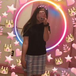 me adi selfie mirror flower edit