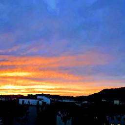 myphoyo tramonto paesaggio mycity napoli italy🇮🇹 italy