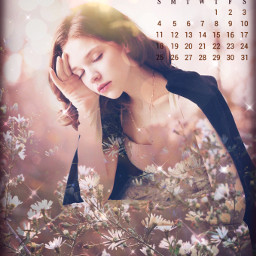 doubleexposure calendar october fall srcoctobercalendar octobercalendar freetoedit