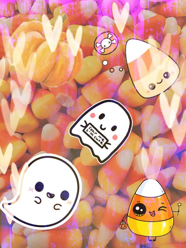 #Halloween #Artistic #CandyCorn #Ghost#Pumpkin#OctoberVibes