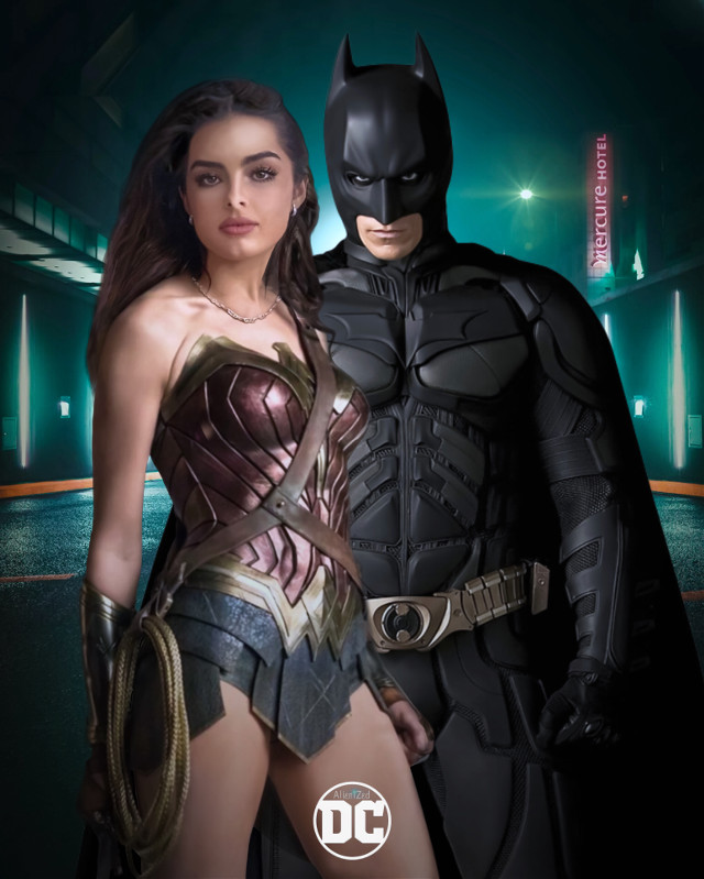 Everyone can become an hero.. ☝🏻👽 with #Picsart 😊    Have a gr8 Tuesday and week planet 👋🏻👽👉🏻🍩☕️🍪@PA 😊   #wonderwoman #batman #dc #fanart #heroes #superheroes #city #road #night #dixiedameilo #tiktok #addisonraev #alienized #wallpaper #uhd #redrawn #editedwithpicsart