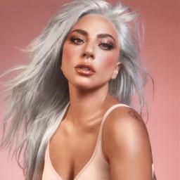 freetoedit ladygaga gaga chromatica pink makeup hauslabs art arianagrande eltonjohn blackpink bronzer woman beauty music rainonme