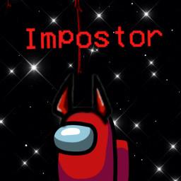 amongus red imposter freetoedit