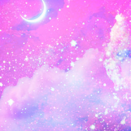 freetoedit glitter sparkle galaxy sky stars clouds pink purple pastel aesthetic shimmer cosmos night art overlay background