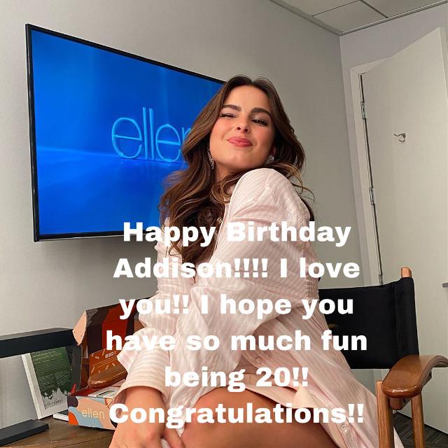 Happy Birthday Addison!!!! #addisonrae