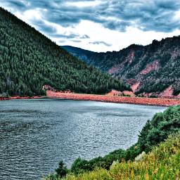 nature naturephotography forest reservoir dam colorful colorado freetoedit