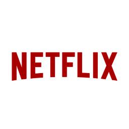 darkred netflix logo icon