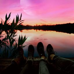 freetoedit heypicsart mastershoutout sky pink